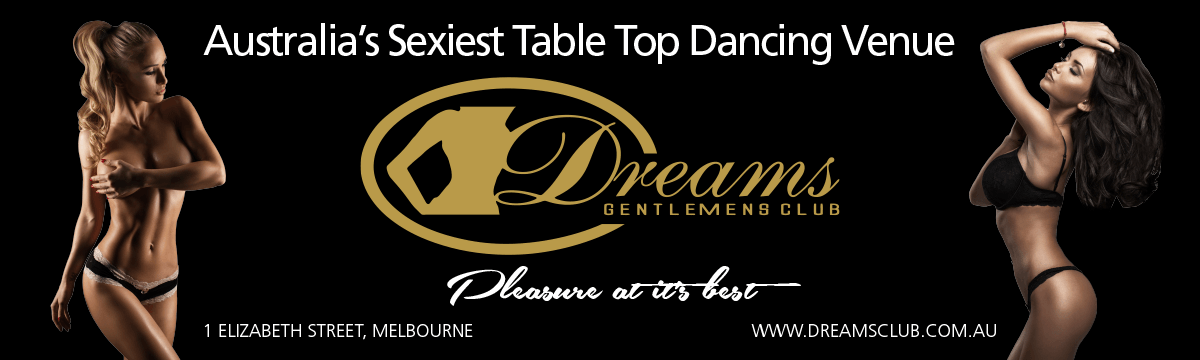 Event Banner | Dreams Gentlemen's Club | Melbourne