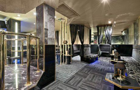 Inside the VIP Area