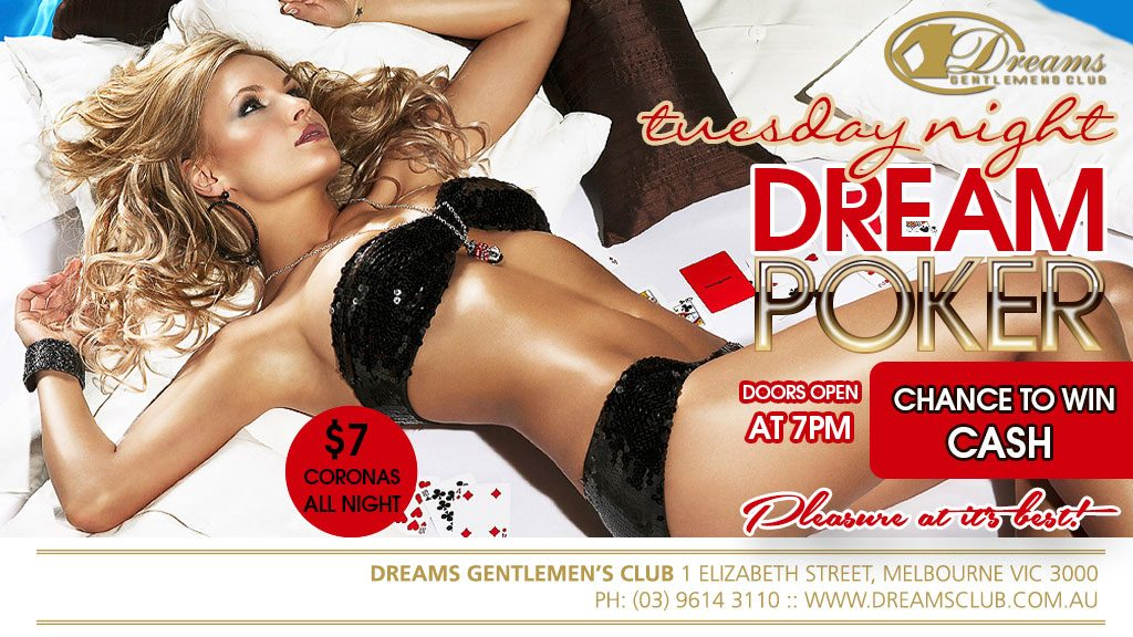 RNB Wednesdays here at Dreams – Enjoy our Great Specials available every Wednesday including $10 Shots All Night (Excludes Top Shelf)