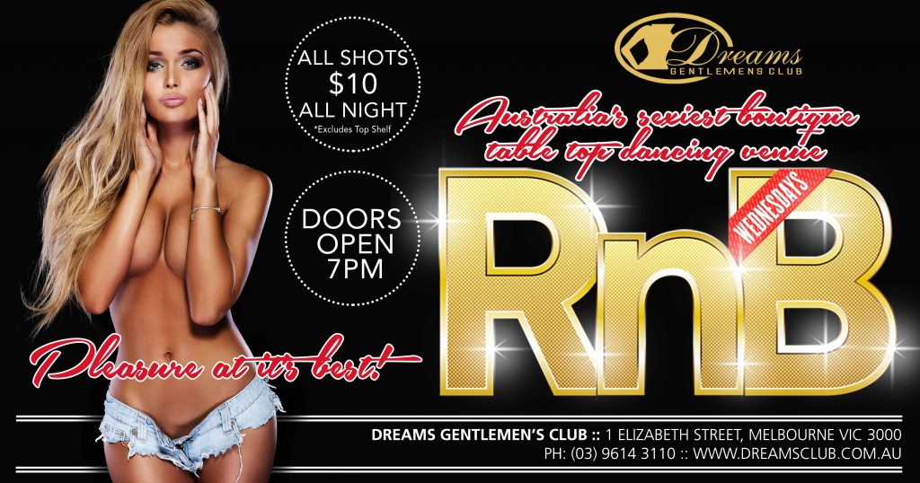 Rnb Wednesdays Night Life open from 7PM