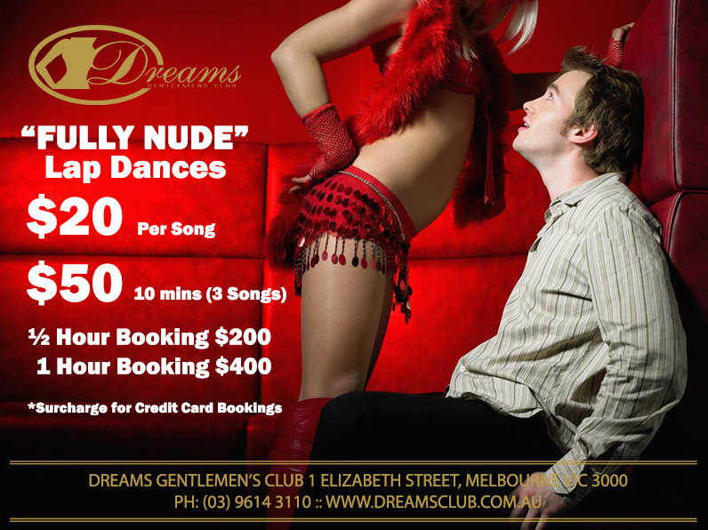 Lap Dances with the Dreams Girls @ Dreams