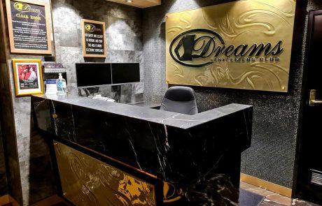 Reception Area 1 - Dreams Gentlemen's Club